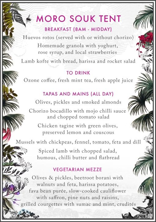 day menu